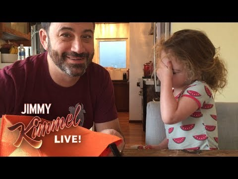 Jimmy Kimmel Tells His Daughter He Ate All Her Halloween Candy