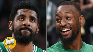 Kemba reacts a lot differently to teammates' misses than Kyrie did - Jackie MacMullan   The Jump