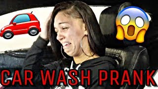 """EPIC CAR WASH PRANK"" ON WIFE 