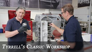 Lamborghini and Ferrari Restorations, Workshop Catchup | Tyrrell's Classic Workshop