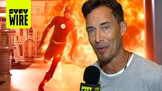 The Flash Cast Preview Crisis On Infinite Earths | SDCC 2019 | SYFY WIRE