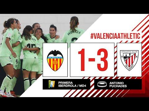 ⚽ HIGHLIGHTS I Valencia CF 1-3 Athletic Club I MD4 Primera Iberdrola 2021-22