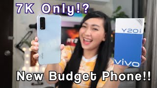 VIVO Y20i : Unboxing & Fullreview (ML,COD,Battery,Camera & Specs)