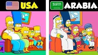 7 Caricaturas que son Diferente en Otros Países