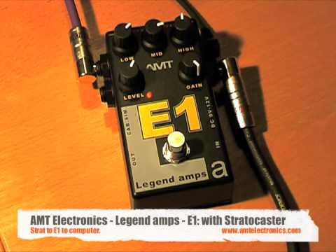 AMT Electronics: Legend amps E1 (Les Paul and Strat - direct to computer)