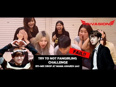 [CHALLENGE] TRY TO NOT FANGIRLING BTS LIVE AT MAMA AWARDS 2017
