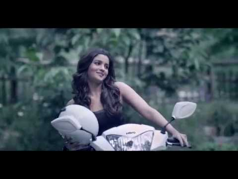 Hero Pleasure TVC featuring Alia Bhatt