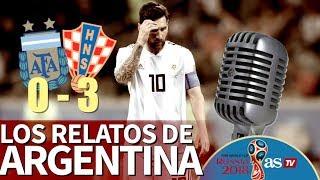 Argentina 0 - Croacia 3 | Los relatos argentinos de la derrota de la albiceleste | Diario AS
