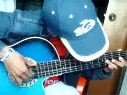 naruto en guitarra acustica  (raising fighting spirit)