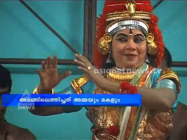 Kalamandalam Girija Devi; a koodiyattam artist in new experiments with the art