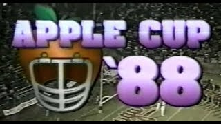 1988 Apple Cup: WSU 32 - UW 31
