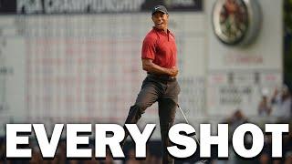 Tiger Woods 2018 PGA Championship Final Round | Every Shot