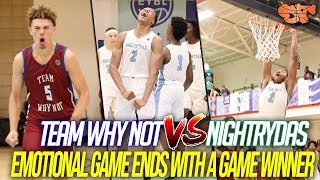 EMOTIONAL GAME ENDS with GAME WINNER !!! | Nightrydas vs  Why Not Day 2 of Peach Jam