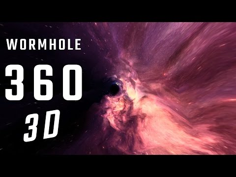 VR-360 Wormhole 3D- 4K - Virtual Reality
