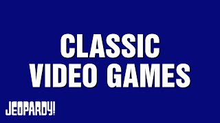 Classic Video Games Category Highlight