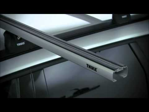 THULE SlideBar 89X - Car Roof Bars