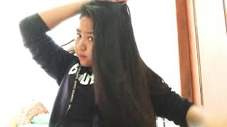 How to make hair style for school girl and easy