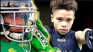 🔥🔥 10 Year Old Football Star   Journey Tonga - I.E Ducks - Laced Facts (CA)