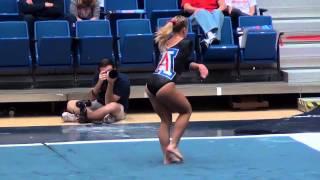 2013 0125 Gymnastics UtahVSArizona Arizona Sangston FX
