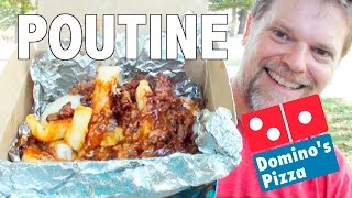 NEW DOMINO'S POUTINE Food Review - Fast Food Friday - Greg's Kitchen