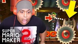 THIS IS THE CRUELEST LEVEL EVER MADE!! [SUPER MARIO MAKER 2] [#24]