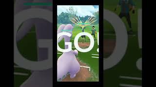 😉Xerneas v/s 100iv goodra    epic battle challenge pokemon go.