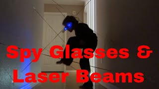 Spy Kid Laser in the House. Spy Gear Toys, Spy glasses.
