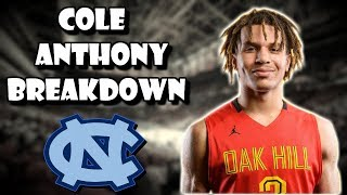 What Can You Expect From Cole Anthony At UNC?! Official Player Breakdown (Vol.2)