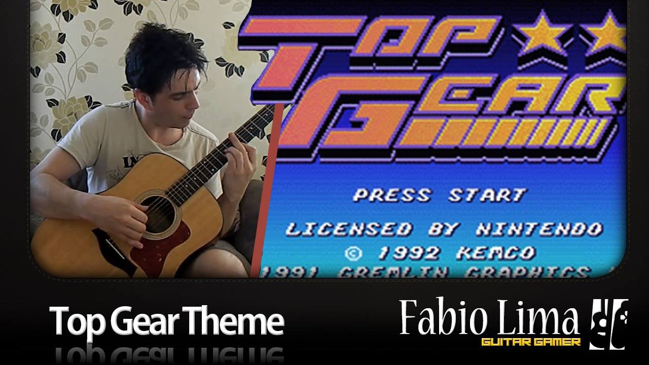 Top Gear Theme on Acoustic Guitar by GuitarGamer (Fabio ...