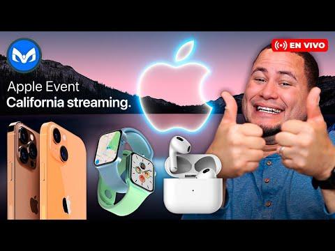 APPLE EVENT ESPAÑOL iPhone 13, Airpods 3, Apple Watch 7