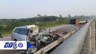 Hiểm họa tai nạn trên cao tốc Hà Nội – Thái Nguyên   VTC