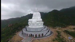 Toàn cảnh Chùa Linh Phong (Chùa Ông Núi) - Bình Định   Tượng Phật cao nhất Đông Nam Á