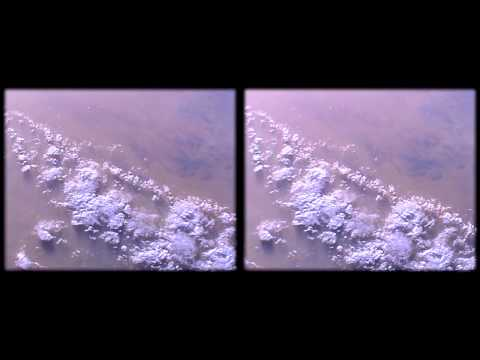 ISS HDEV Earth View from space Africa Lybia Greece real 3D Stereoscopic