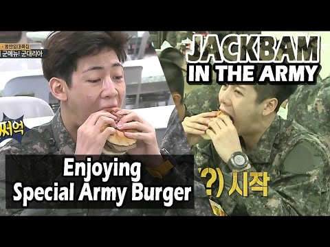 [Real men] 진짜 사나이 - Special Army Style Burger 20160605