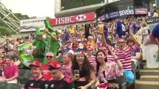 香港國際七人欖球賽2014 - 港隊表現良好兩戰全勝 YouTube 影片