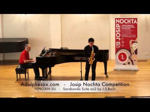 Josip Nochta Competition NINGXIN SU Sonatine by Claude Pascal