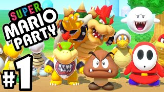 Super Mario Party - 2 Player Nintendo Switch Gameplay Walkthrough PART 1: Super Star Goomba!?