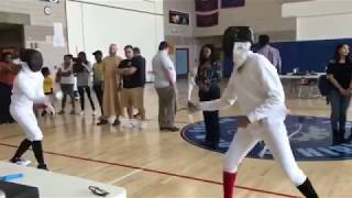 TANUUUKI FENCING--TIP 1-- TESTING YOURSELF IS A NO  NO!