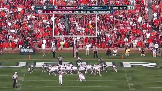 2011 Iron Bowl - #2 Alabama vs. #24 Auburn (HD)