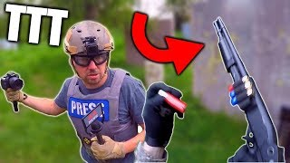 The ULTIMATE Weapon! AIRSOFT TTT