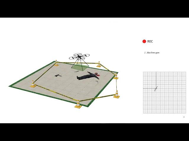 巴西犯罪專家開發無人機 紀錄犯罪現場、識別武器與血跡