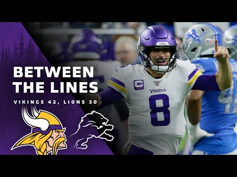 Between The Lines: Minnesota Vikings 42, Detroit Lions 30