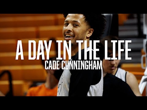 Cade Cunningham: A Day In The Life | Oklahoma State Basketball