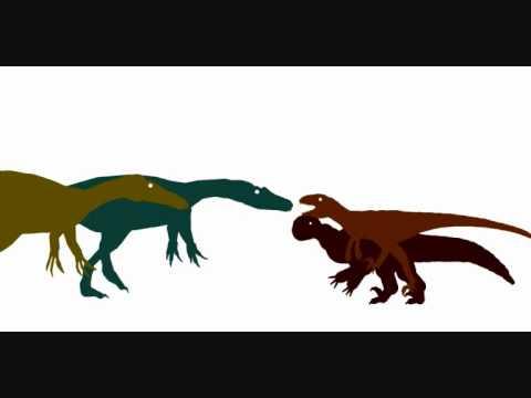 Baryonyx and Suchomimus vs Megaraptor and Utahraptor - YouTube