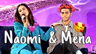 Naomi Scott and Mena Massoud Cute & Funny Moments