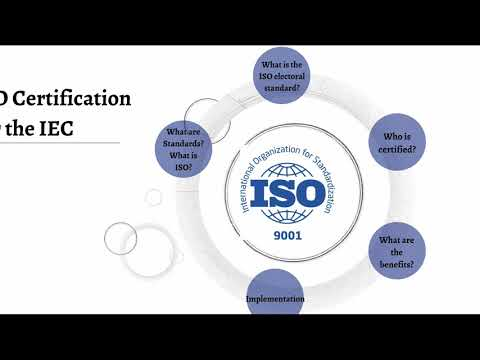 ISO certification explained - EU JDID project