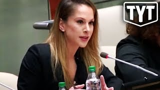 Ana Kasparian Speaking Truth To Power At The United Nations