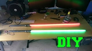 Construir Sable laser de LED DIY