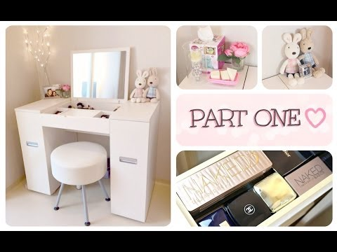 My Makeup Collection & Storage Part 1 | 화장품 컬렉션 & 보관대 1