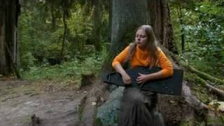 Laima Jansone - Latvian kokle improvisation Under The Trees